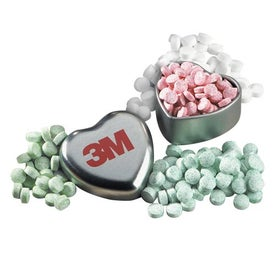 Virginia Heart Shaped Mint Tin