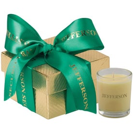 Customized Virgo Gift Box with Candle