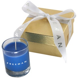 Virgo Gift Box with Candle