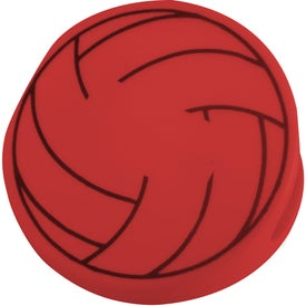 Personalized Volleyball Keep-It Clip