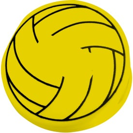 Printed Volleyball Keep-It Clip
