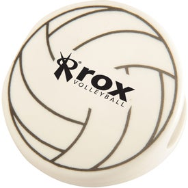 Volleyball Keep-It Clip Imprinted with Your Logo