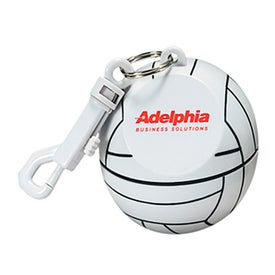 Volleyball with Hook Clip and Poncho