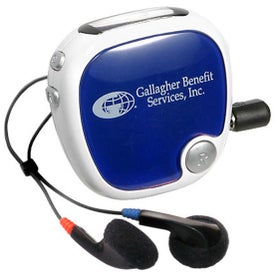 Promotional Walk N' Roll Radio Pedometer