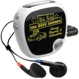 Walk N' Roll Radio Pedometer for Your Company