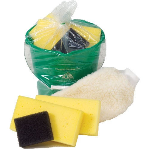 Green (348) Wash and Buff Car Wash Kit
