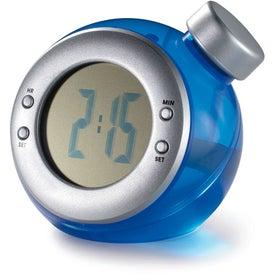 Branded Water Powered Clock