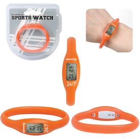 Water Resistant Silicone Sports Watch for your School
