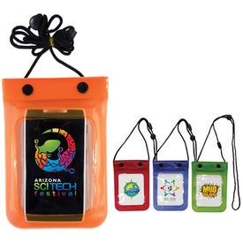 Waterproof Cell Phone Bag (Full Color Digital)
