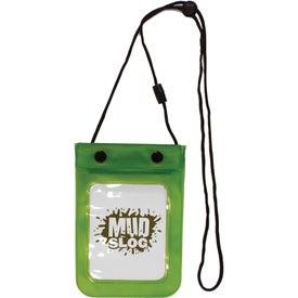 Monogrammed Waterproof Cell Phone Bag