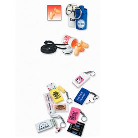 Waterproof Keyfob with Earplugs