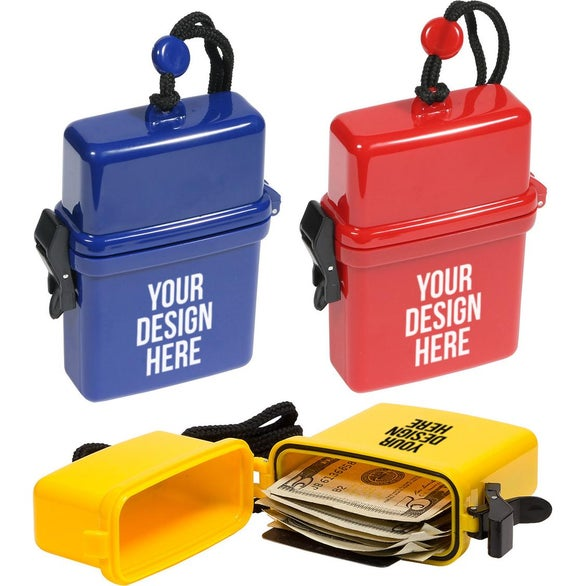 Promotional Waterproof Storage Cases with Custom Logo for $0 897 Ea