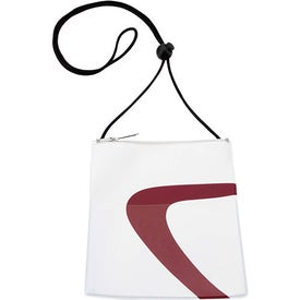 Monogrammed Wave Badge Holder