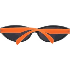 Printed Wave Rubberized Sunglasses