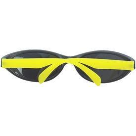 Promotional Wave Rubberized Sunglasses
