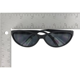 Wave Rubberized Sunglasses for Marketing