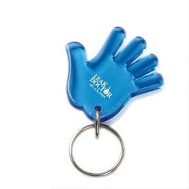 Advertising Waving Hand Keychain