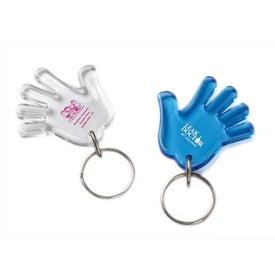 Waving Hand Keychain