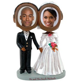 Wedding Couple Bobble Heads