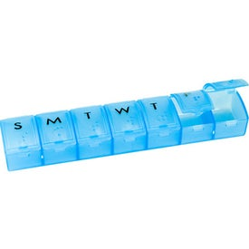 Weekly Pill Dispenser for Promotion