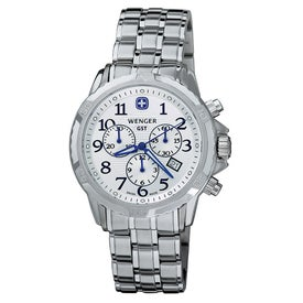 Wenger GST Bracelet Chrono Watch
