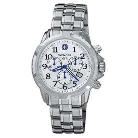 Wenger GST Bracelet Chrono Watch