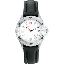 Wenger Men's Brigade Black Strap Watch