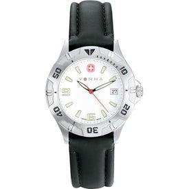 Wenger Men's Brigade Black Strap Watch