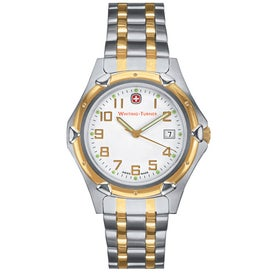Wenger Men's Standard Issue 2-Tone Bracelet Watch