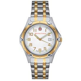 Wenger Men's Standard Issue 2-Tone Bracelet Watch
