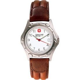 Wenger Men's Standard Issue Brown Strap Watch