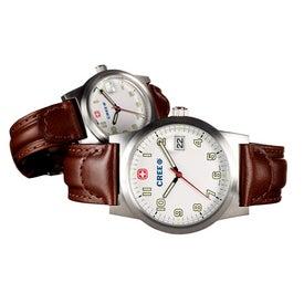 Branded Wenger Women's Classic Field Brown Strap Watch