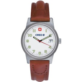 Wenger Women's Classic Field Brown Strap Watch