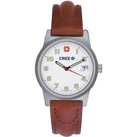 Wenger Women's Classic Field Brown Strap Watch