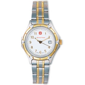 Wenger Women's Standard Issue 2-Tone Bracelet Watch