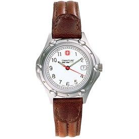 Wenger Women's Standard Issue Brown Strap Watch