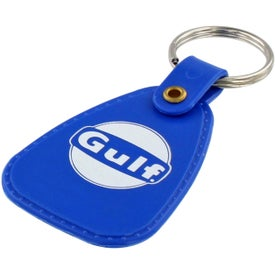 Western Saddle Key Tag Branded with Your Logo