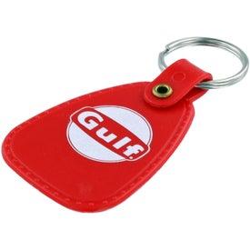 Branded Western Saddle Key Tag