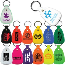 Antimicrobial Western Saddle Key Tags