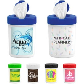Wet Wipe Container for Marketing