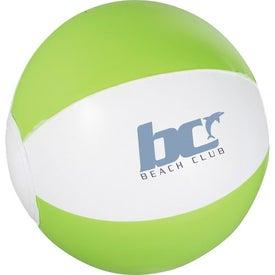 Printed Whirl Mini Beach Ball