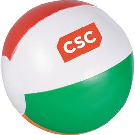 Logo Whirl Mini Beach Ball