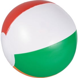 Printed Whirl Mini Beach Ball