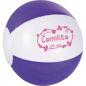 Customized Whirl Mini Beach Ball