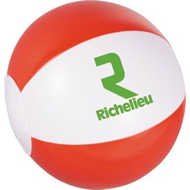 Whirl Mini Beach Ball Imprinted with Your Logo