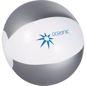 Branded Whirl Mini Beach Ball