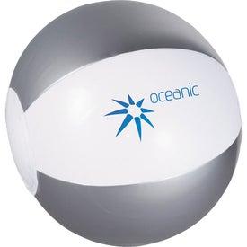 Branded Whirl Mini Beach Ball