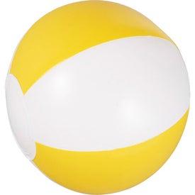 Imprinted Whirl Mini Beach Ball