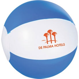 Whirl Mini Beach Ball with Your Logo