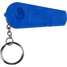 Imprinted Whistle Key Light